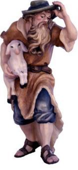 Hirte mit Lamm