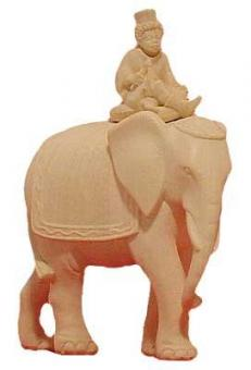 Modern Elefant mit Page 15cm natur