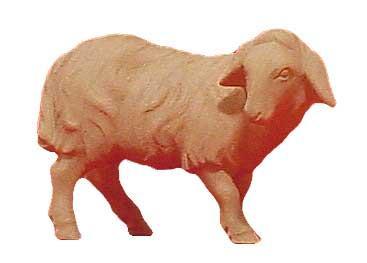 Modern Schaf schauend 11cm natur