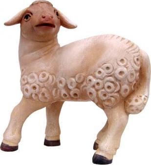 Modern Lamm schauend 11cm color